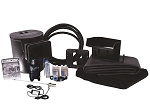 Savio 550 Gallon Complete Pond Kit Package 6' x 10' Includes 18 Watt UV