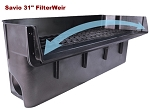 Savio FilterWeir 31 inch up to 10000GPH BioMechanical Filtration