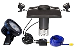 Scott Aerator Display Fountain Lighting - 2 Light LED Set