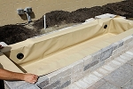 Atlantic 72inch Flexible Hardscape Fountain Basins