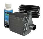 Pondmaster 12 Magnetic Drive Pond Fountain Pump 1200 GPH - Includes FREE 4oz PumpGuard Cleaner