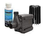 Pondmaster 24 Magnetic Drive Pond Fountain Pump 2400 GPH - Includes FREE 4oz PumpGuard Cleaner