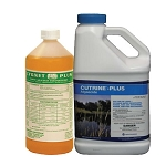 Cutrine-Plus Liquid Algacide Gallon Chelated Copper and Cygnet Activator 32oz Combo - EPA Registered