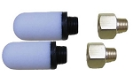 Set of 2 EasyPro ERP Compressor Replacement Filters and Brass Adapters