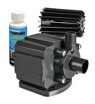 Pondmaster 5 Magnetic Drive Pond Fountain Pump 500 GPH - Includes FREE 4oz PumpGuard Cleaner