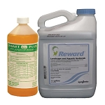 Reward 1 Gallon Concentrated Broad Range Herbicide and Cygnet Activator 32oz - EPA Registered