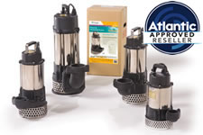 Atlantic Water Garden TidalWave A-Series Direct Drive Waterfall Pumps