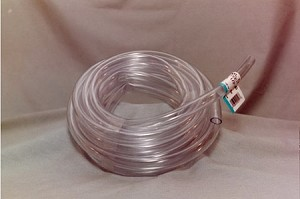 "1/4"" ID X 3/8"" Clear Fountain Pump Tubing 100' Ft Roll"
