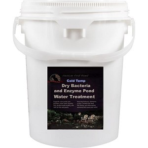 American Pond Cold Temp Dry Bacteria and Enzyme Water Treatment 50Lbs Treats 4800000 Gallons