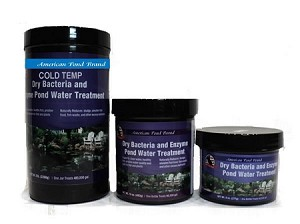 American Pond Cold Temp Dry Bacteria and Enzyme Water Treatment 5Lbs Treats 480000 Gallons