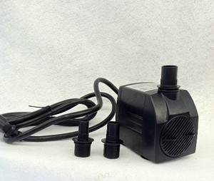 American Pond APJR1300 Submersible Fountain Pump 343 GPH has 15ft 3-Prong Grounded Power Cord