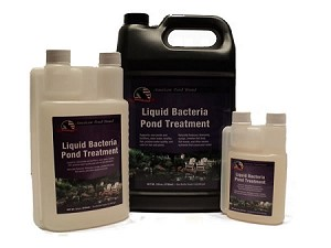American Pond Liquid Beneficial Bacteria Pond Water Treatment 128oz Treats 128000 Gallons