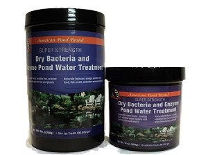 American Pond Super Strength Dry Bacteria & Enzyme Water Treatment 8oz Treats 48000 Gallons