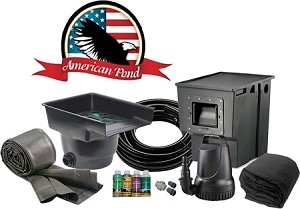 American Pond Freedom 4 x 6 Mini Pond Kit