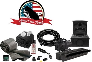 American Pond Large Pond Free Pro Series Waterfall Kit with Stream Energy Saving