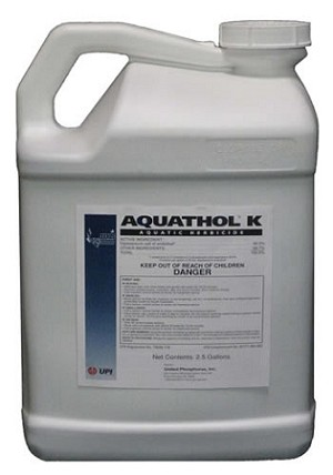 Aquathol Liquid 1 Gallon Super K Herbicide - EPA Registered