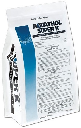 Aquathol Granular Super K Herbicide 10 Lb Bag - EPA Registered