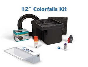 "Atlantic Complete 12"" SOL White ColorFalls Waterfall Kit"