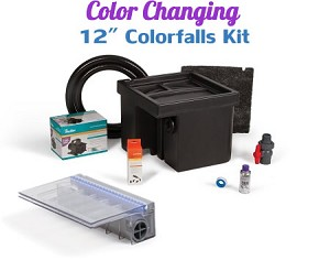 "Atlantic Complete 12"" Color Changing ColorFalls Waterfall Kit"