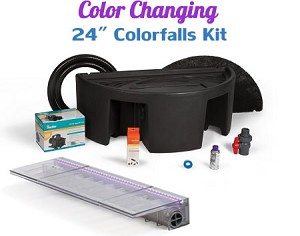 "Atlantic Complete 24"" Color Changing ColorFalls Waterfall Kit"