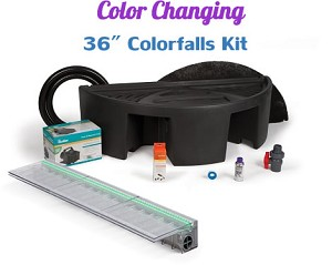 "Atlantic Complete 36"" Color Changing ColorFalls Waterfall Kit CCKIT36"