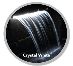 "Atlantic 24"" inch Crystal White Colorfalls Replacement Bulb and Transformer"