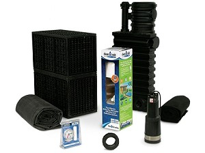 Atlantic 1000 Gallon Rain Harvesting Kit with RHDIV12 Submersible Pump