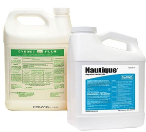 Nautique Aquatic Double Chealted Copper Herbicide 2.5 Gallon and Cygnet Activator Gallon - EPA Registered
