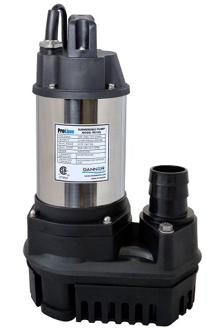 Danner ProLine 1/5 HP 2600 GPH High-Flow Submersible Water Pump