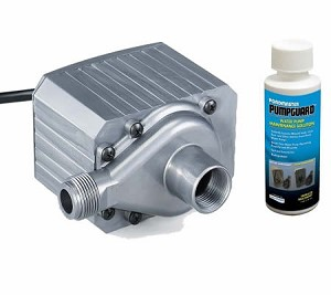 Pondmaster 12 Magnetic Drive Pond Fountain Pump 1200 GPH - Includes FREE 4oz bottle of Danner PumpGuard Cleaner
