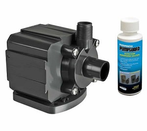 Pondmaster 5 Magnetic Drive Pond Fountain Pump 500 GPH - Includes FREE 4oz bottle of Danner PumpGuard Cleaner