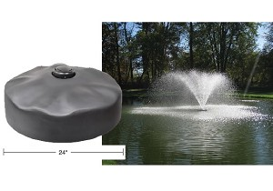 "Easypro Floating Fountain Head, includes 2"" Wide Umbrella Nozzle - ACF2N"