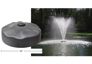 "Easypro Floating Fountain Head, includes 2"" Narrow Umbrella Nozzle - ACF3N"