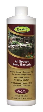 EasyPro All Season Liquid Beneficial Pond Bacteria 16oz Bottle