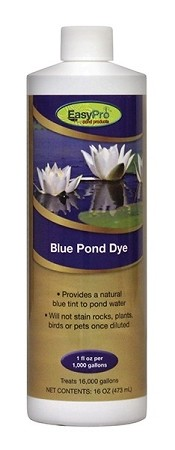 EasyPro Concentrated Blue Pond Dye - 16oz