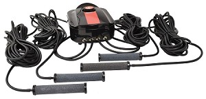 EasyPro CAS4 Compact Pond Aeration Kit Quad Outlet for Ponds up to 3500 Gallons