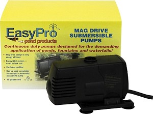EasyPro EP600 Submersible Magnetic Drive Pump 600 GPH