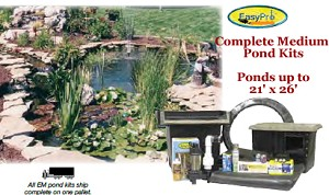 EasyPro Pro-Series 16' x 21' Medium Pond Kit EM1621FB