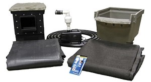 EasyPro 6' x 6' Small Backyard Pond Kit Do It Yourself Pond Made Easy