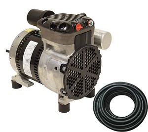 EasyPro 1/4 HP Rocking Piston Aeration System Aerates up to 50 feet deep