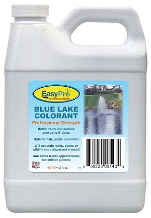 Concentrated Pond Dye 1 Quart NonToxic treats one acre upto 3' deep