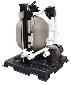 EasyPro 10000 Gallon Deluxe Skid Mounted Filtration Systems