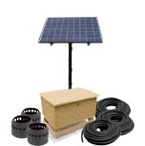 Solar Pond Aeration Kits Aerates up to 3 Acre Pond with Battery Backup