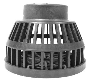 EasyPro Suction Strainer SSP30 3 inch Inlet Size for External Pond Pumps