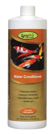 EasyPro Pond Water Conditioner Removes Chlorine 32oz