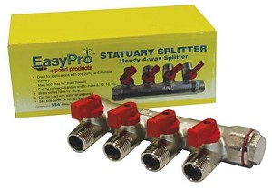 EasyPro 4 Valve Statuary Splitter and Plumbing SS4