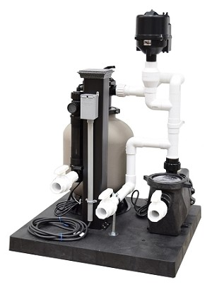 EasyPro 1800 Gallon Deluxe Skid Mounted Filtration Systems