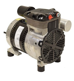 EasyPro Stratus SRC252 Series Single Rocking Piston Air Compressor 1/4HP - 230 Volt