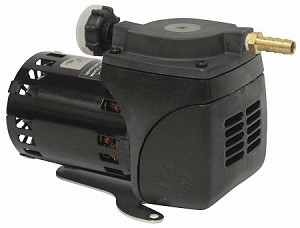 Gast 1/20 HP Small Continuous Duty Diaphragm Air Compressor