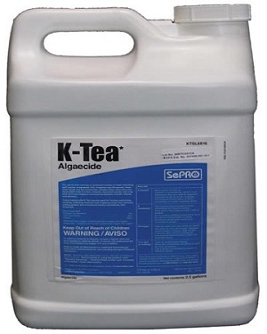 K-Tea Liquid Chelated 8% copper Base Algaecide - EPA Registered
